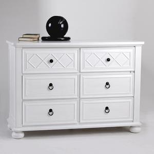 Item # 1019DR - Finish: Vintage White<br><br>Dimensions: 50W x 20D x 36H