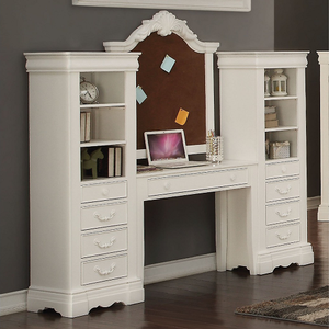 Item # A0015D - Finish: White<br><br>Corkboard Sold Separately<br><br>Dimensions: 82