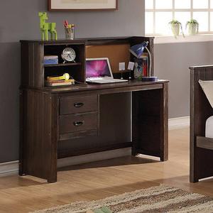 Item # 158D Desk - Finish: Espresso<br><br>Hutch Sold Separately<br><br>Dimensions: 50