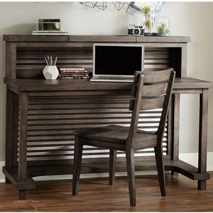 Item # 160D Activity Desk - Finish: Barnwood<br><br>Dimensions: 54W x 22D x 30H