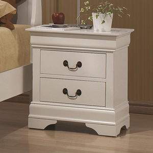 Item # A0268NS - Finish: White<br><br>Available in Cappuccino, White, Red Brown and Black Finishes<br><br>Dimensions: 21.75