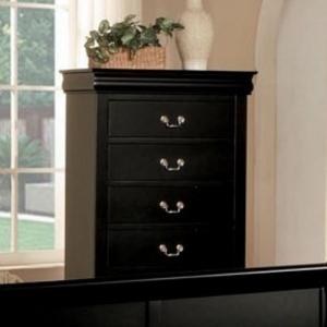Item # 225CH Chest - Finish: Black<br><br>Dimensions: 32