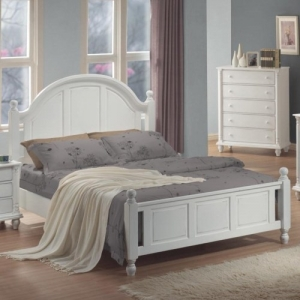 Item # 007Q Queen Panel Bed