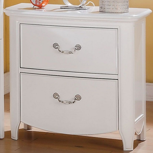 Item # A0286NS - Finish: White<br><br>Available in Cherry<br><br>Dimensions: 26