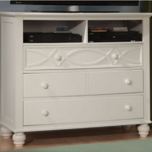 Item # 002MCH Cottage Style Media Chest - Cottage Style media chest with dovetailed drawers and ball bearing slide glides<br><br>