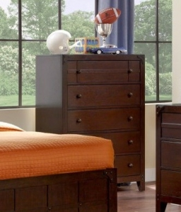 Item # 112- 215-009 Summerfield Collection 5-Drawer Chest - Dimensions: 35 1/2