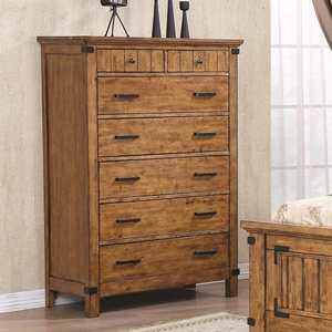 Item # 235CH Rustic Chest - Finish: Rustic Honey<br><br>Dimensions: 39