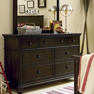 Item # 015DR Drawer Dresser - <b>Mirror sold separately</b><br><Br>