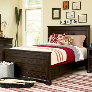 014FB Full Panel Bed - Headboard can be used separately<br><Br>