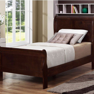 258HB Twin Headboard - Finish: Cappuccino<br><br>Dimensions: 41.25