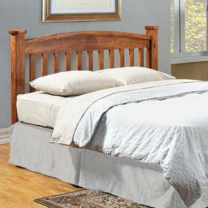 263HB Slatted Headboard in Oak  - Finish: Oak<br><br>Dimensions: 41 1/2