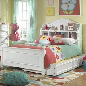 0165T Twin Bookcase Bed