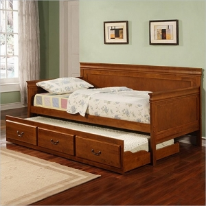 056DB Twin Daybed with Trundle - Twin daybed W/ Trundle. Maximum of 10 inches for trundle mattress<br><Br>