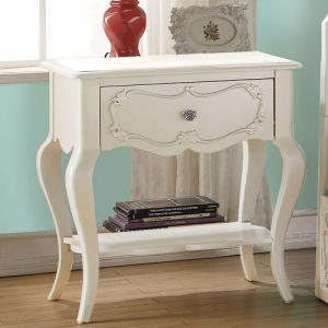 Item # A0274NS - Finish: Pearl White<br><br>Available in Gray, Turquoise and Magenta finishes<br><br>Dimensions: 24W x 17D x 26H