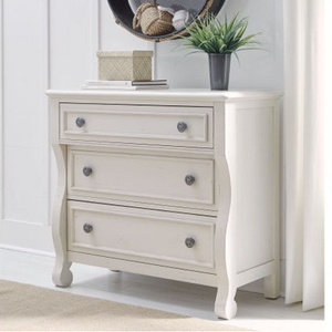Item # 326CH Accent Chest - Finish: Pebble White<br><br>Dimensions: 37W x 18D x 34H