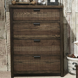 Item # 355CH Chest - Finish: Tawny Brown<br><br>Dimensions: 38W x 18D x 50H