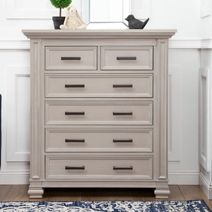 Item # 357CH - Finish: Moonstone<br>Available in Coastal White finish<br>Assembled Dimensions: 46.5 x 21.3 x 52.1<br>Assembled Weight: 167.3 lbs