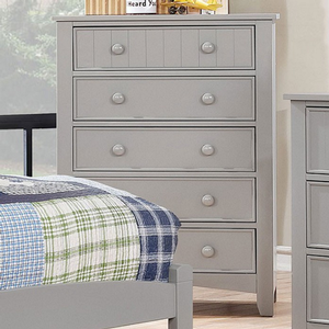Item # 358CH Chest - Finish: Gray<br><br>Dimensions: 29