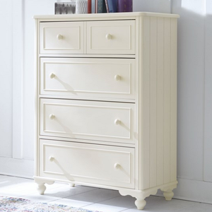 Item # 360CH Chest - Finish: Ivory<br><br>Dimensions: 38W x 18D x 50H