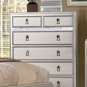 Item # 364CH Chest - Finish: Silver<br><br>Available in Rose Gold finish<br><br>Dimensions: 36
