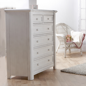 Item # 375CH - Finish: Vintage White<br><br>DImensions: 40W x 21D x 51H