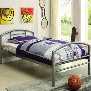 1031TMB Twin Metal Bed - <b>Dimensions: </b> Width: 42.25  x  Depth: 78.25  x  Height: 32.25