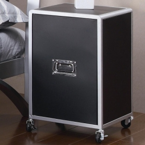 078CH Cabinet - Cabinets have built in casters with safety lock for easy mobility<br><br>