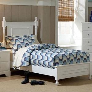 0966T Twin Panel Bed