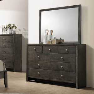 Item # A0009M - Finish: Mod Grey<br><br>Dresser Sold Separately<br><br>Dimensions: 45W x .75D x 35.50H
