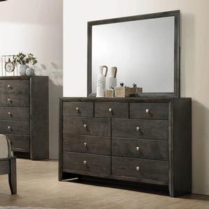 Item # A0009M - Finish: Mod Grey<br><br>Dresser Sold Separately<br><br>Dimensions: 45W x .75D x 35.50H