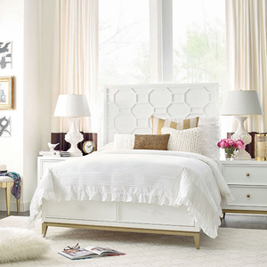 Item # A0095T Twin Panel Bed - Finish: White<br><br>Available in Full size<br><br>Dimensions: 42W x 80D x 60H