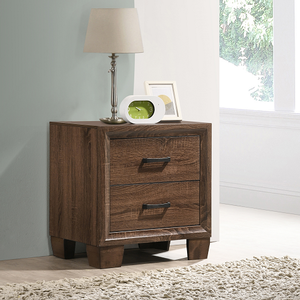 Item # A0262NS - Finish: Medium Warm Brown<br><br>Available in Grey Oak / Black Finish<br><br>Dimensions: 23.25W x 16.75D x 24.25H