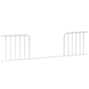Item # C015 Toddler Conversion Kit - Finish: Washed White<br>Assembled Dimensions: 52 x 14.625 x 1.5<br>Assembled Weight: 8 lbs<br>Maximum Weight: Toddler Bed: 50 lbs