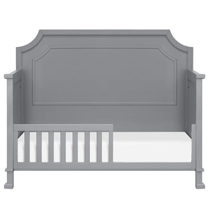 Item # C017 Toddler Conversion Kit - Finish: Grey<br>Assembled Dimensions: 51.9 x 13.4 x 1<br>Assembled Weight: 4.4 lbs