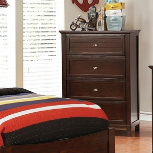 Item # 312CH Brown Cherry Chest - Style Transitional<br> Color/Finish Brown Cherry<br> Material Solid wood, others, wood veneer<br> Hardware Nickel<br> Length 29<br>Width 17<br> Height 41 3/4<br>Product Dimension<br> Chest 29