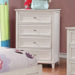 Item # 313CH White Chest - Style Transitional<br> Color/Finish Antique White<br> Material Solid wood, others, wood veneers<br> Hardware Nickel<br> Length 29<br> Width 17<br> Height 41 3/4<br> Product Dimension<br> Chest 29