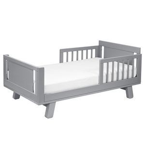 Item # CB005 Junior Bed Conversion Kit in Grey - Finish: Grey<br><br>Available in White, Washed Natural, Espresso & White/Washed Natural<br><br>Made in Taiwan<br><br>Assembly Weight: 70.4 lbs<br><br>Dimensions: 53.5