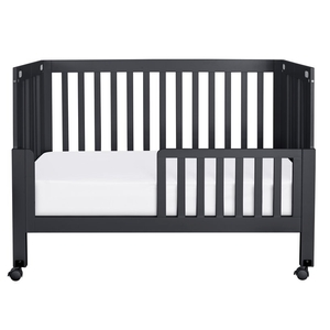 CB011 Toddler Bed Conversion Kit in Black - Finish: Black<br><br>Available in Grey & White<br><br>Made in China<br><br>Assembled Weight: 5.5 lbs<br><br>Dimensons: 53