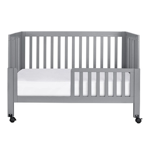 CB012 Toddler Bed Conversion Kit in Grey - Finish: Grey<br><br>Available in Black & White<br><br>Made in China<br><br>Assembly Weight: 5.5 lbs<br><br>Dimensions: 53