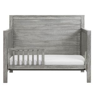 CD043 Toddler Conversion Kit in Rustic Grey - Finish: Rustic Grey<br><br>Made in Taiwan<br><br>Weight: 4.5 lbs<br><br>Dimensions: 51.375 x 1.875 x 13.375