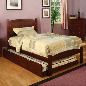 0940T Twin Panel Bed - Platform bed<br><Br>Paneled Headboard<br><Br>Slat Kit Included<br><Br>