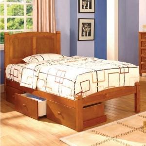 0941T Twin Platform Bed - Platform Bed<br><br>Paneled Headboard<Br><br>Slat Kit Included<br><br>