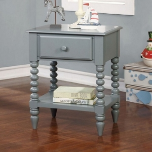 Item # A0046NS - Transitional Style<br><Br>Unique Carved Leg Detail<br><br>Open Shelf Display Space<br><Br>