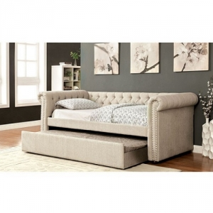 Item # A0015WD - Transitional Style<br><br>Button Tufted<Br><Br>Nailhead Trim<br><br>Curved Arms<br><Br>Solid Wood Framework Wrapped Tightly W/ Warm Linen Fabric<br><br>