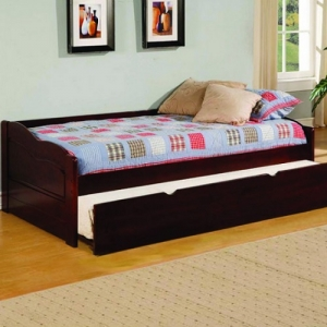 Item # 020DB Twin Daybed w/ Trundle - Platform Bed<br><br>Slat Kit Included<Br><Br>Twin Trundle Included<Br><br>