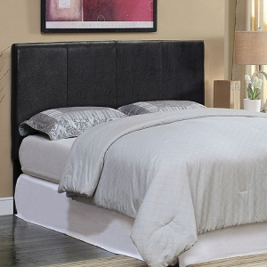 235HB Leatherette Headboard - Available in Twin & Queen Headboard (Full Size Compatible) Leatherette w/ Acrylic Buttons<br><br>Wall Mountable<br><br>
