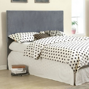 237HB Gray Fabric Headboard