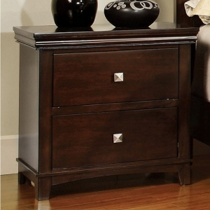 Item # A0189NS - Finish: Brown Cherry<br>Dimensions: 23 5/8