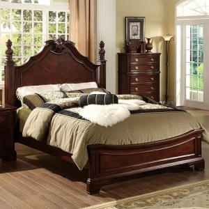 Item # 043Q Queen Bed - Comes in either a low profile or a four-post design<br><br>