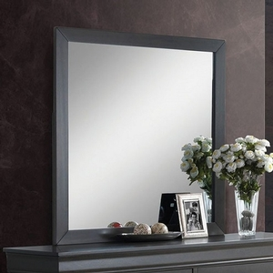 983M Grey Mirror - Style Contemporary<br>